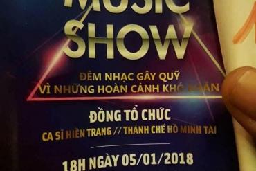 Đêm nhạc gây quỹ hổ trợ bệnh nhân ung thư của BV CTCH
