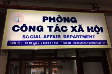 Bệnh viện Chấn thương chỉnh hình TP HCM tổ chức kỷ niệm ngày Công tác xã hội Việt Nam
