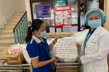 Mạnh Thường Quân tiếp sức và hổ trợ nhân viên y tế