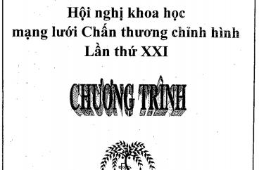 CHƯƠNG TRÌNH CHI TIẾT HỘI NGHỊ MẠNG LƯỚI CTCH LẦN THỨ 21 Ở DAKLAK