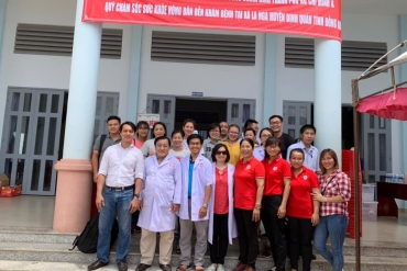 Bệnh viện Chấn thương Chỉnh hình đồng hành cùng các doanh nghiệp chăm lo sức khỏe nhân dân
