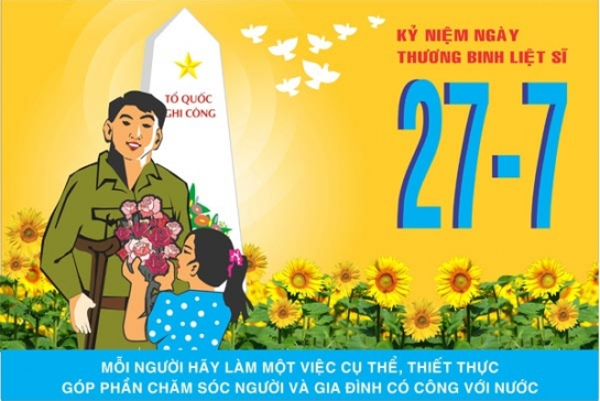KY NIEM NGAY THUONG BINH LIET SI 27-07-2017