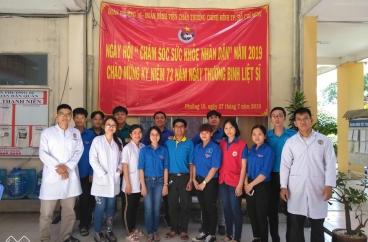 Ngày hội chăm sóc sức khỏe nhân dân - 2019 Kỷ niệm 72 năm nhày thương binh liệt sĩ