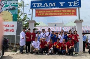 Khám và phát thuốc miễn phí cho bà con khó khăn tại huyện Tân Trụ tỉnh Long An ngày 20/6/2020