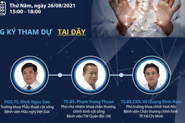 Chương trình Phẫu thuật nắn chỉnh biến dạng cột sống