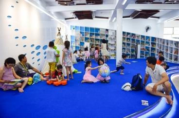 Khám phá thư viện thông minh miễn phí đầu tiên cho thiếu nhi ở Sài Gòn