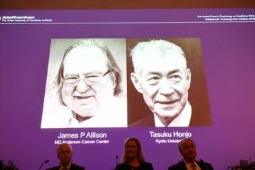 Nobel Y học 2018: