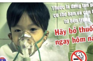Ảnh hưởng nghiêm trọng tới sức khỏe trẻ em khi bị hút thuốc lá thụ động